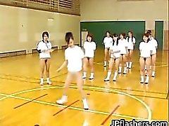 Super kuuma japanilaiset tytöt vilkkuu Osa 6