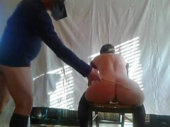 Punished sitting on the chair