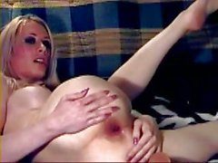 Sexy TS Kylie strokes sexily