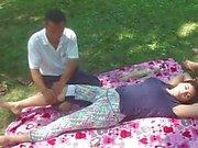 Kinesisk massage in park