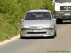 Slut Stellen Fahrzeug zum Ficken
