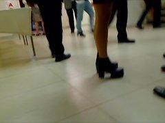 Teen Pantyhose Legs