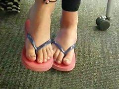 Löydä - candid Aasian varpaille flip flops osan