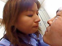 Escupitajos OC japonés el compañera de trabajo