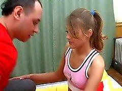 Söta ryska Teen Girl Diana Mycket skönt knull