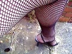 Filets les collants fermer et upskirt