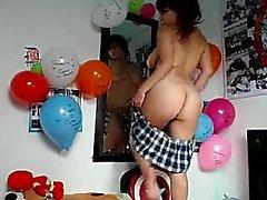 peitos grandes presente na webcam