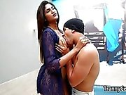 Busty cute tranny latina deep fucked