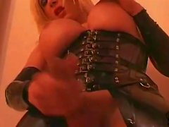 Eva Vortex - Black Rubber Wank