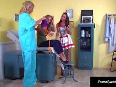 İsveçli Tilki Puma İsveçli ve Nicole Aniston Yaşlı Pussy Sınavlarına Hazır Olun!