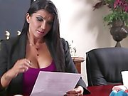 Romi Rain Office Fuck