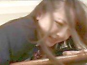 Japon Kız Öğrenci Cock Alır