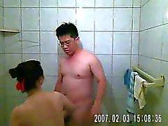 videotaping mijn vrouw en ik hebben seks in de badkamer