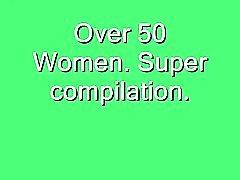 De plus de 50 femmes superbe Compilation