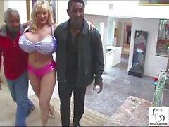 "Kayla Kleevage, Billy and Silvio ""Fuck My Big Milk Cow Tits"""