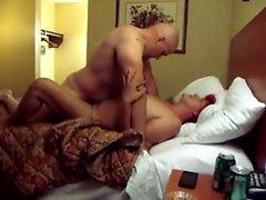 Große Paar Bett Sex