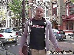 Blont holländsk proffs bespottade