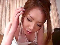 China Mimura gibt steamy POV blwojob