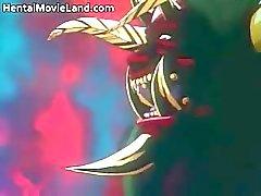 Fantastiska anime film med sugande hård