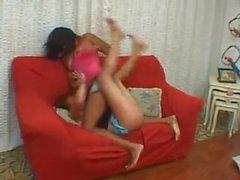 Brazil catfight