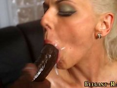 Glam ho takes black cocks