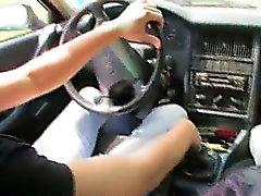 18yo latvialaisen girl nai autoa