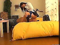 Scolara Sexy Fucks come un professionista questo video nella Voyeur La