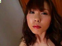 Japanska Tonårsflicka Masturbate With Dildos