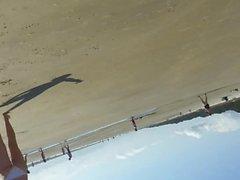 plajda İnanılmaz eşek
