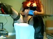 Redhead Milf In Sexy Lingerie
