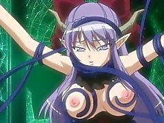 El anime Caught se apretó sus tetas y la culo horadada por del te