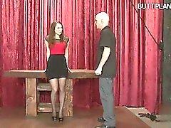 Girlfriend bondage slave