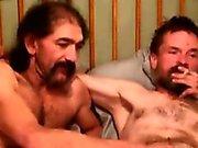Mature rednecks pleasing their cocks