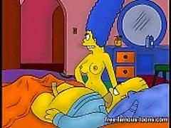 Marge Simpson dolda orgier