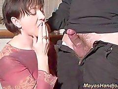 Maya jerking spontanous