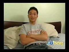 19yo asiatici Boyhole viene farcito dal un Big gallo bianco