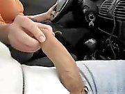 Автомобиля Привод мастурбирует
