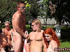 Бисексуалы группы Orgy ебля