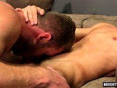 Big dick sesso anale gay con sborrata