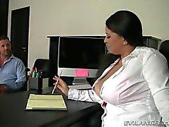 le secrétaire joufflu