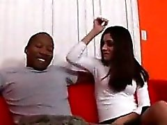 Dirty Latina Fucked By A Black Cock