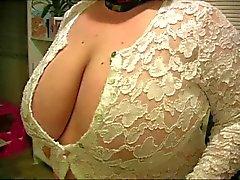 Wife huge boobs