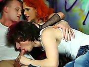 Bisex raveparty med bj