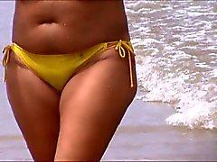 sexy beach del milf jiggly de espionaje culo cincuenta y dos ,null, agradable mom culo