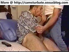 sucking straight street guy