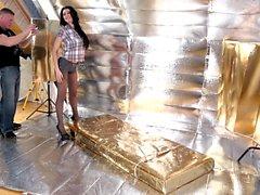 MON ALBUM inusités - anal babe russe baisée par le photographe