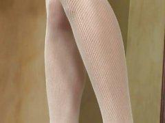 Hot babe Georgia Jones in her lingerie masturbates looking sexy