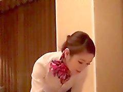 Kauniita Lämmin japanilainen tyttö seksiä