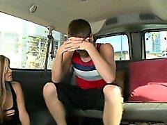 Heterosexual adolescente de que toma una bj