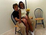Ebony midget babe dicked hard